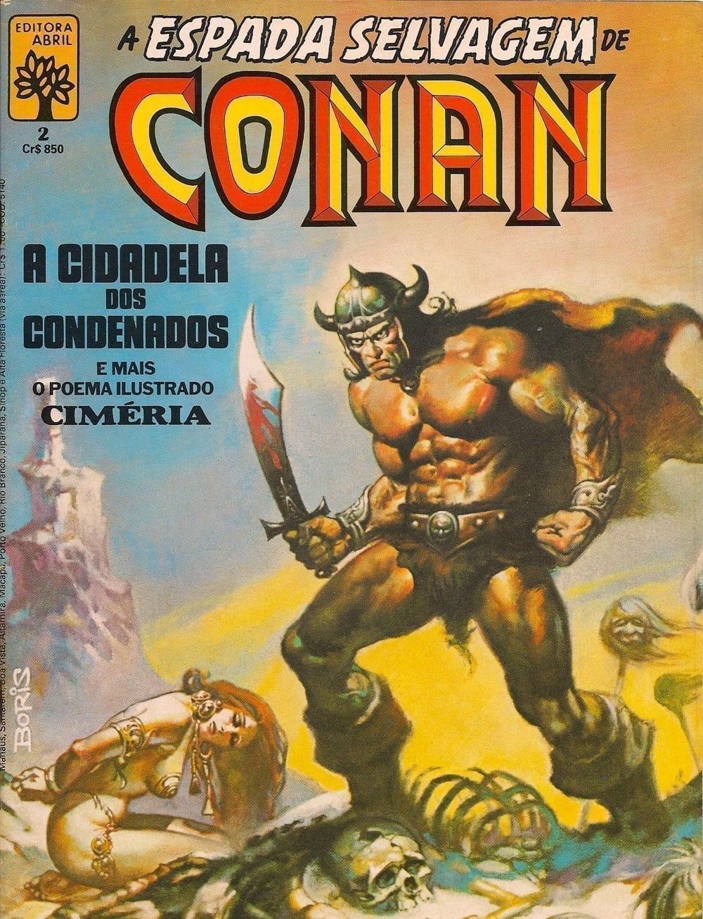 Capa: A Espada Selvagem de Conan 2
