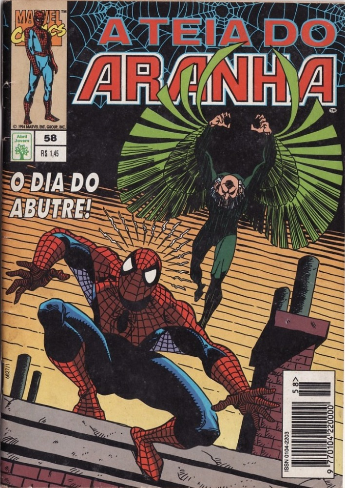 Capa: A Teia do Aranha Abril 58