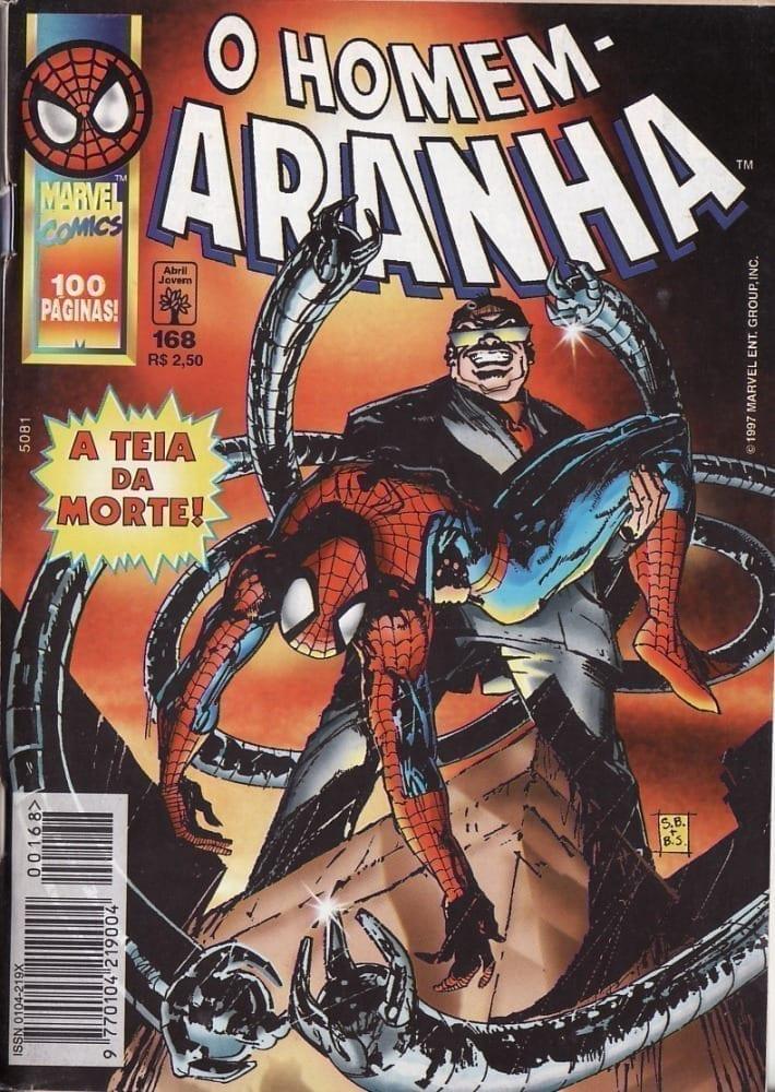 Capa: O Homem-Aranha Abril (1ª Série) 168