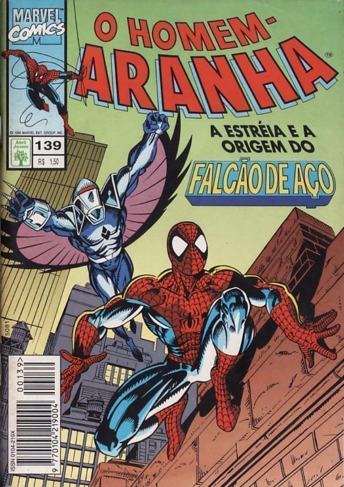 Capa: O Homem-Aranha Abril (1ª Série) 139
