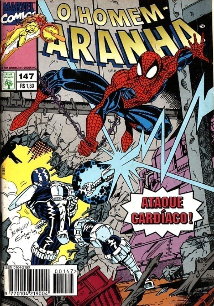 Capa: O Homem-Aranha Abril (1ª Série) 147