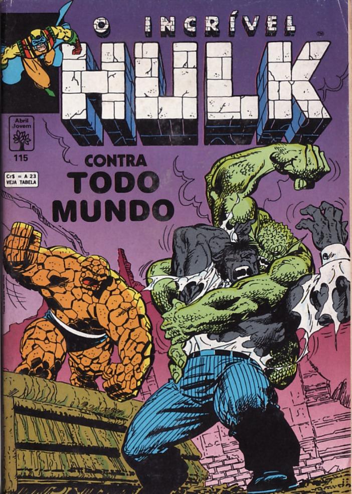 Capa: O Incrível Hulk Abril 115