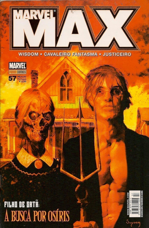 Capa: Marvel Max 57