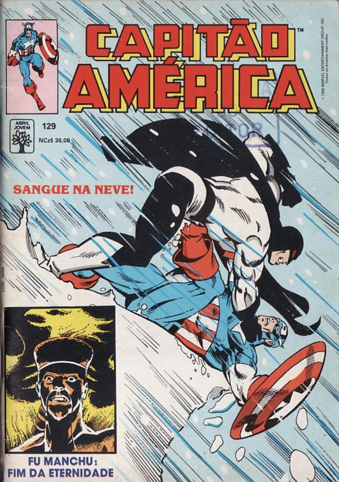 Capa: Capitão América Abril 129
