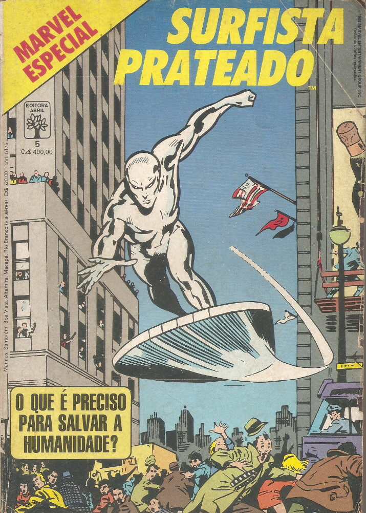 Capa: Marvel Especial Abril 5