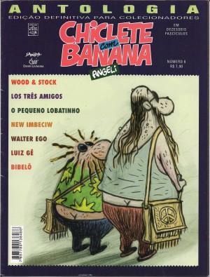 Capa: Chiclete com Banana - Antologia 3