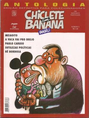 Capa: Chiclete com Banana - Antologia 4