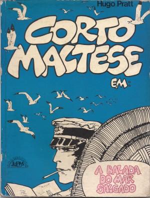 Capa: Corto Maltese em: A Balada do Mar Salgado