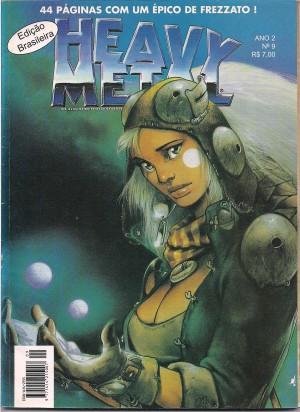 Capa: Heavy Metal 9