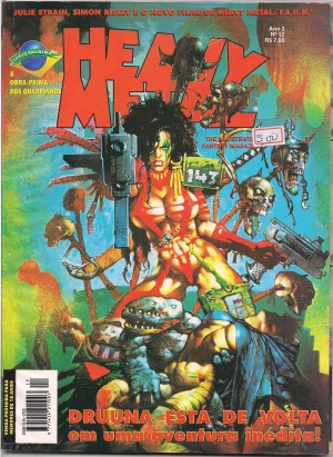 Capa: Heavy Metal 12