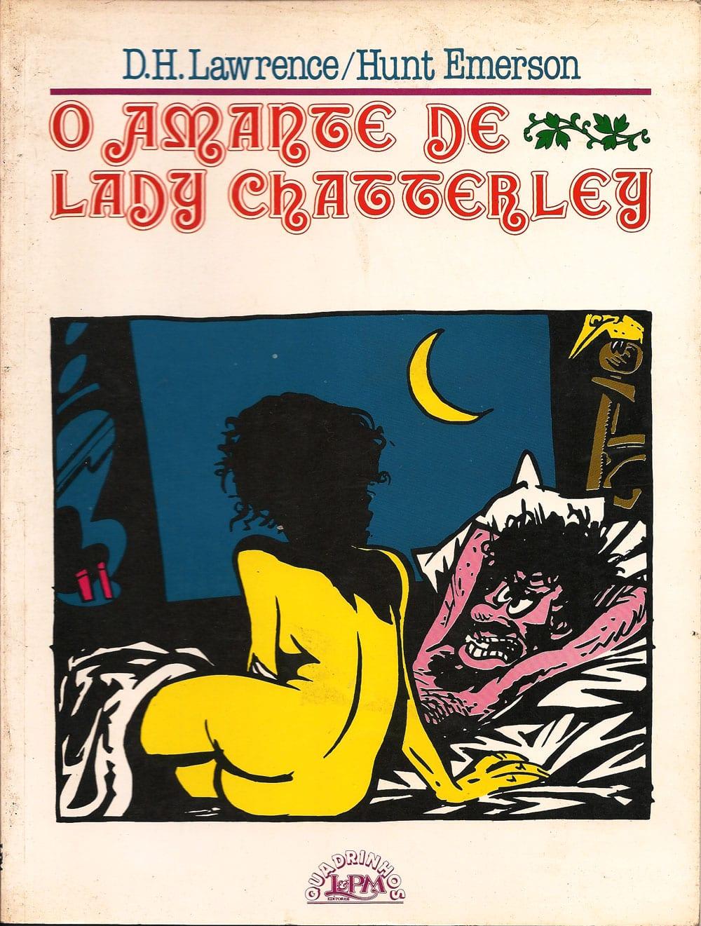 Capa: O Amante de Lady Chatterley