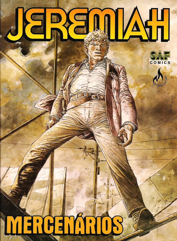 Capa: Jeremiah - Mercenários