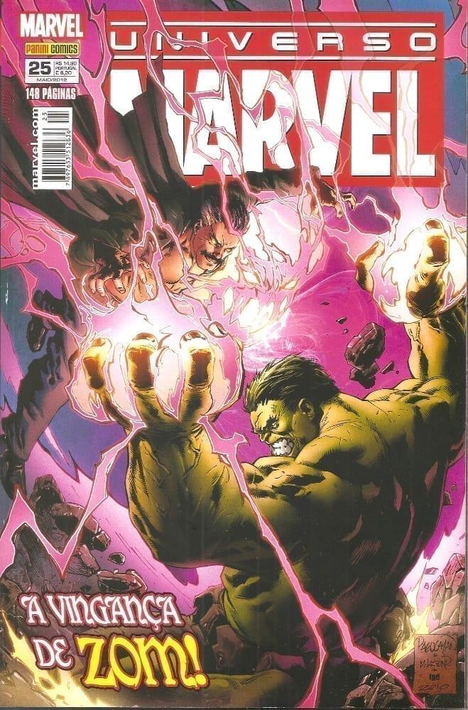 Capa: Universo Marvel - 2ª Série 25