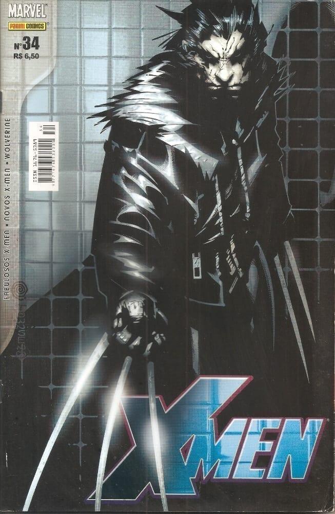 Capa: X-Men - 1ª Série (Panini) 34