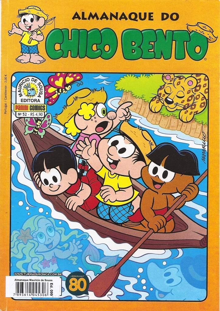 Capa: Almanaque do Chico Bento Panini 52
