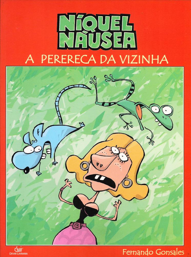 Capa: Níquel Náusea (Devir) - A Perereca da Vizinha 5