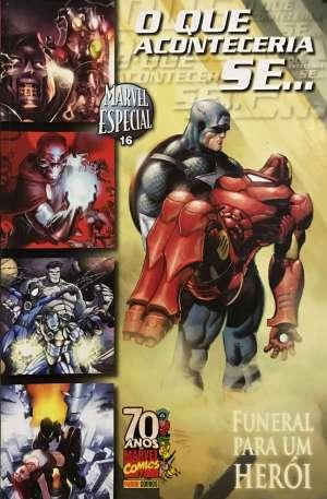 Capa: Marvel Especial - O que Aconteceria se... Funeral para um Herói 16