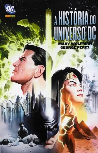 Capa: A História do Universo DC