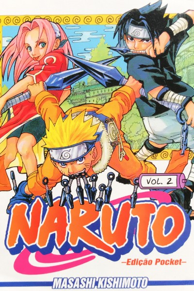 Capa: Naruto Pocket 2