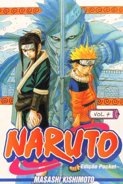 Capa: Naruto Pocket 4