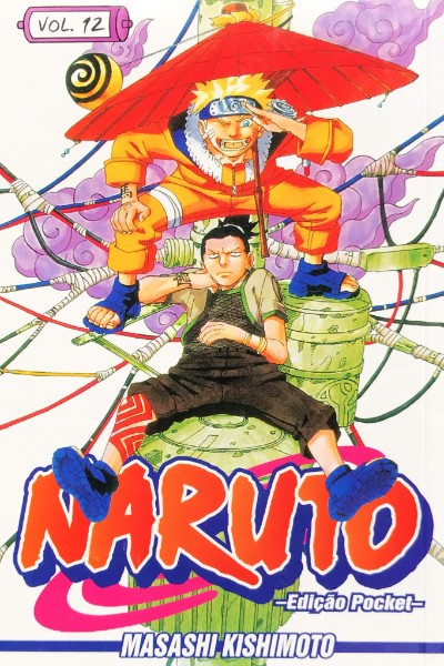 Capa: Naruto Pocket 12
