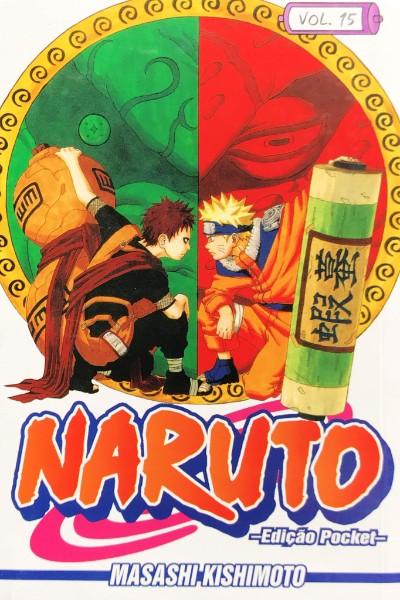 Capa: Naruto Pocket 15
