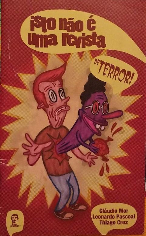 Capa: Isto Não É Uma Revista de Terror