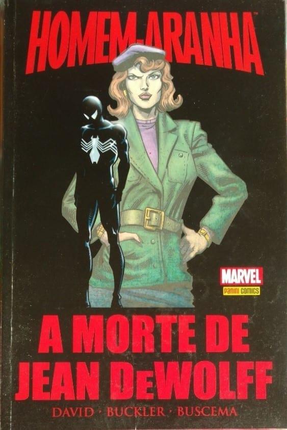 Capa: Homem-Aranha: A Morte de Jean Dewolff