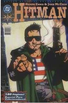 Capa: Hitman - Edição Especial Encadernada 1